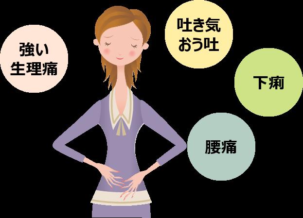子宮内膜症 女性